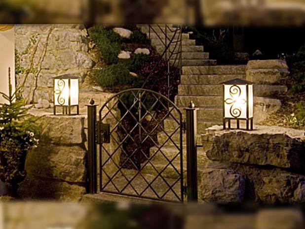 tipps zur beleuchtung im garten lampen und licht design licht design lampen und leuchten. Black Bedroom Furniture Sets. Home Design Ideas