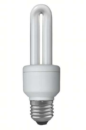 Energiesparlampen sparen zwar Energie, sind aber kleine Umweltsünder.