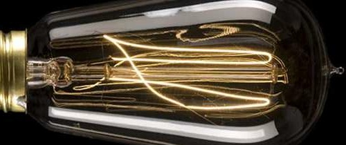 Kohlefadenlampe Edison