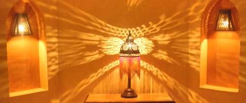 Sonderanfertigungen von orientalischen Wand und Deckenlampen