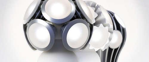 Die Designer LED Serie Bulled von der Firma Ledo