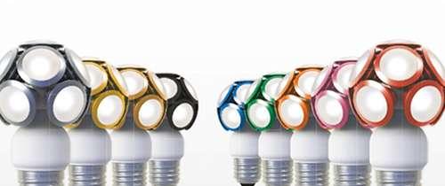 Die verschiedenen Farben der LED Modular.