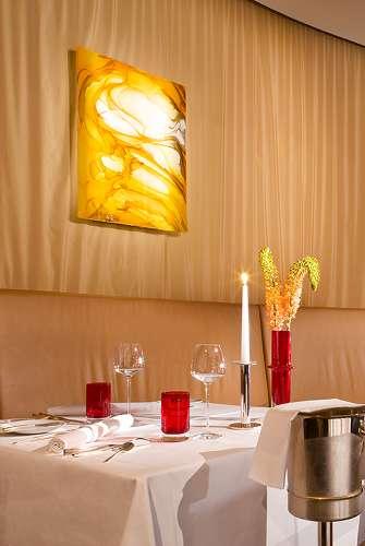 Lichttafel lampe für das interconti Hotel Berchtesgaden
