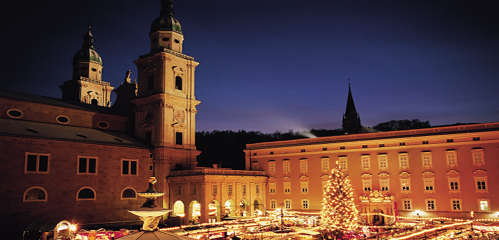 Weltkulturstadt Salzburg bei nacht