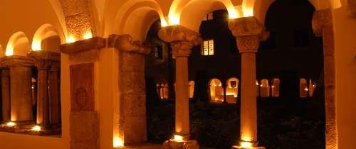 Stimmungsvolles Licht Im Schloss Berchtesgaden