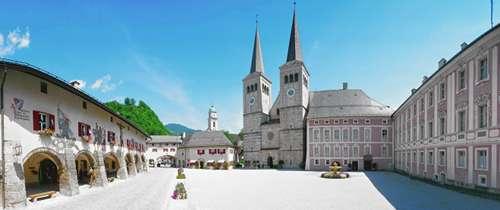 Königliche Schloss in Berctesgaden