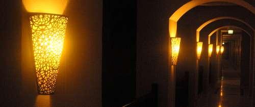 handgefertigte Wandlampen aus dem Orient und Ägypten
